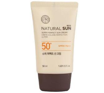 Kem chống nắng The Face Shop Natural Sun Eco SPF50+