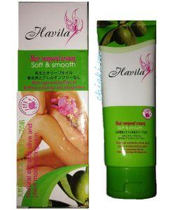 Kem tẩy lông của Nhật Havila cho vùng tay chân, mặt, nách