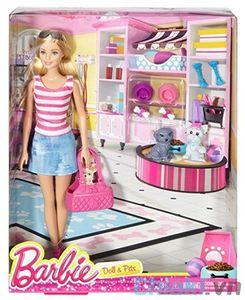 Búp bê Barbie thú cưng Barbie Pets DJR56