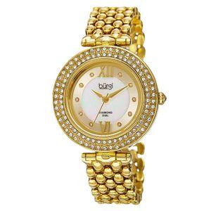 Đồng hồ Burgi BUR126YG mạ vàng sang trọng cho nữ