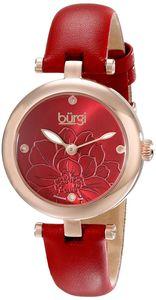 Đồng hồ Burgi chính hãng BUR128RD dây da cao cấp