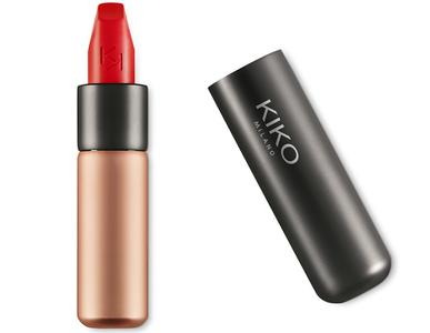 Son Kiko Velvet Passion Matte 311 Poppy Red đỏ tươi