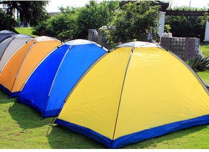 Lều cắm trại 2 người vải 2 lớp thoáng mát