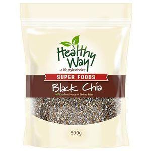 Hạt chia đen Úc Healthy Way Black Chia 500g