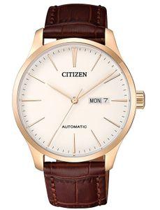 Đồng hồ Citizen Automatic NH8353-18A dây da