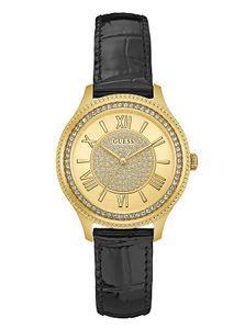 Đồng hồ Guess U0840L1 dây da đen thanh lịch