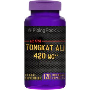Tongkat Ali Piping Rock Ultra 420mg hộp 120 viên