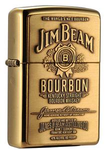 Bật lửa Zippo 254BJB.929 Jim Beam High Polish Brass