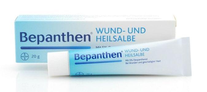 Kem da bôi cho bé Bepanthen chính hãng Đức