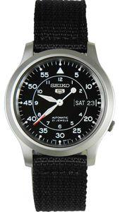 Seiko 5 quân đội SNK809 màu đen size 37