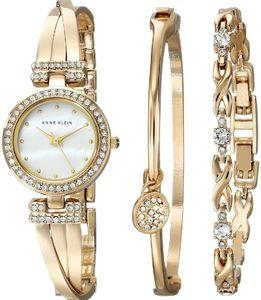 Set đồng hồ Anne Klein AK/1868GBST và vòng đeo tay quyến rũ