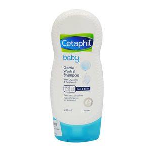 Sữa tắm, gội toàn thân Cetaphil cho bé Hair & Body