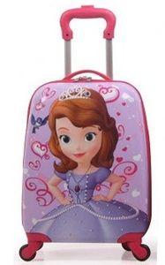 Vali kéo trẻ em hình chữ nhật họa tiết Công chúa