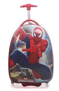 Vali kéo người nhện hình trứng dành cho bé trai