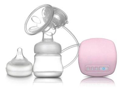 Máy hút sữa Youha điện đơn màu hồng
