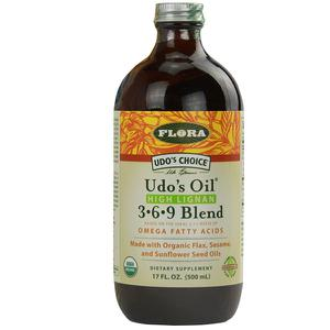 Dầu thực vật hữu cơ Flora Udo's Oil Omega 3 6 9 Blend
