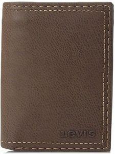 Ví da nam Levi's Leather Trifold nhỏ gọn và sang trọng