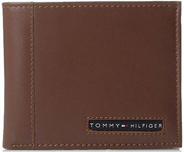 Ví da nam Tommy Hilfiger Men's Cambridge Passcase lịch lãm màu Tan