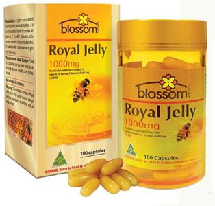 Sữa ong chúa Blossom Royal Jelly 1000mg