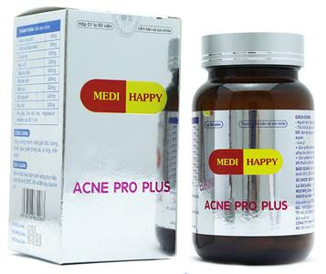 Viên uống trị mụn Medi Happy Acne Pro Plus