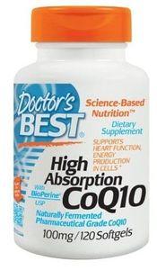 Coenzyme Q10 100mg Doctor's Best - hỗ trợ điều trị tim mạch