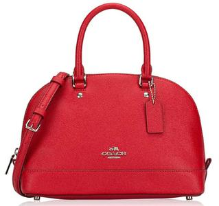 Túi Coach Sierra Satchel màu Bright Red