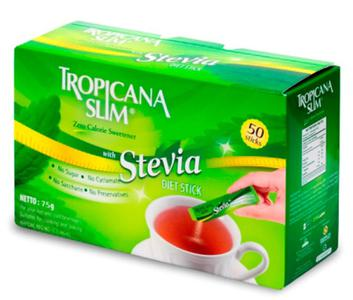 Combo 2 hộp đường ăn kiêng Tropicana Slim Stevia