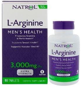 L-Arginine 3000 mg - Viên uống dành cho nam giới của Mỹ