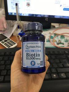 Viên uống ngăn rụng tóc đẹp da Biotin Ultra Mega Puritan's Pride