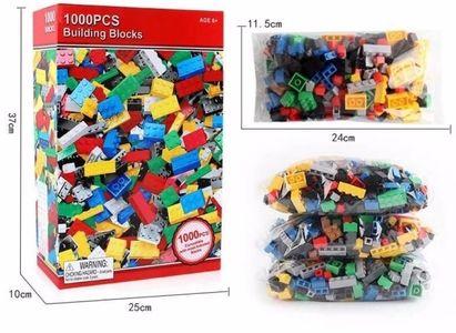 Bộ đồ chơi Lego 1000 chi tiết lắp rắp cho bé