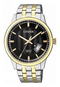 Đồng hồ Citizen BI1054-80E dây demi, máy Quartz