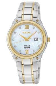 Đồng hồ Seiko Solar SUT214 case 30 cho nữ