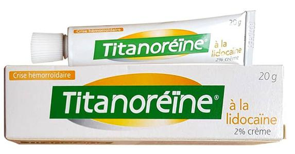 Kem bôi Titanoreine chính hãng của Pháp