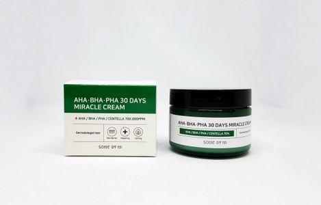 Kem hỗ trợ trị mụn AHA-BHA-PHA 30 Days Miracle Cream