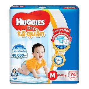 Bỉm quần Huggies size M cho bé 5-10kg