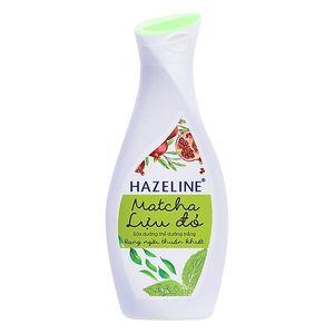 Sữa dưỡng thể Hazeline trắng da Matcha lựu đỏ