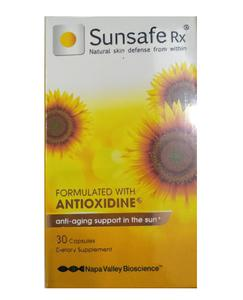 Viên uống chống nắng Sunsafe Rx - bảo vệ da thông minh