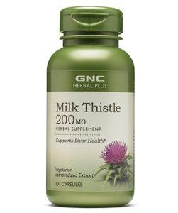 Viên uống GNC Milk Thistle 200mg của Mỹ