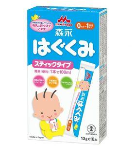Sữa Morinaga số 0 dạng thanh cho bé từ 0 đến 12 tháng tuổi