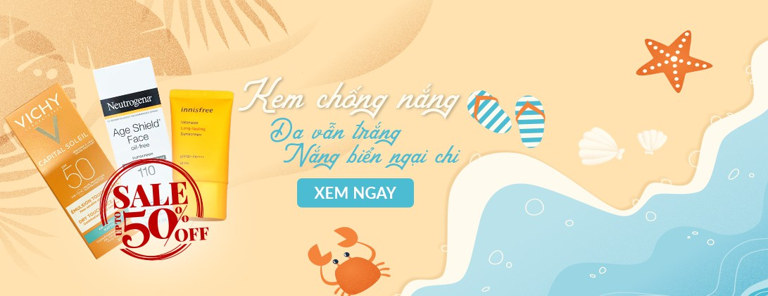 Kem Chống Nắng Sale Off -50%