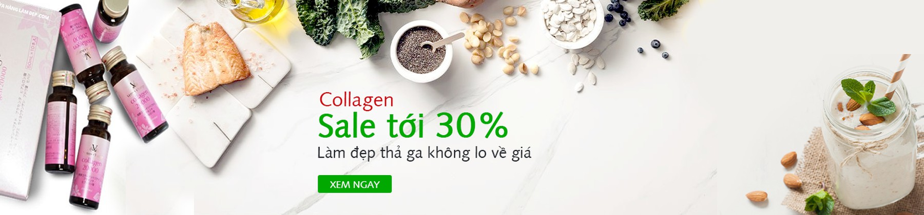 Collagen sale tới 30%