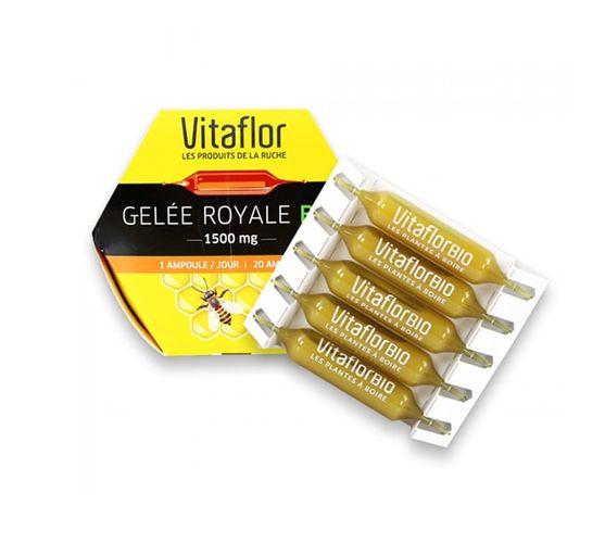Review sữa ong chúa Vitaflor của Pháp có tốt không, cách sử dụng?