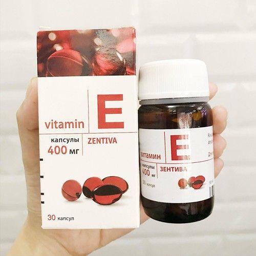 Vitamin E Đỏ Nga: Thành phần, Công dụng, Giá bán Review Mới Nhất