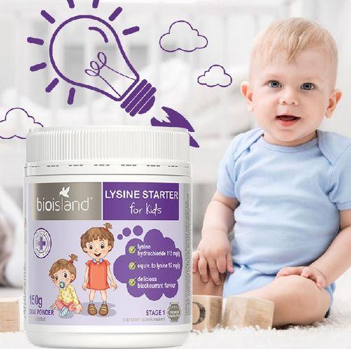 Bổ sung Lysine Starter for Kid để phát triển chiều cao và khỏe mạnh