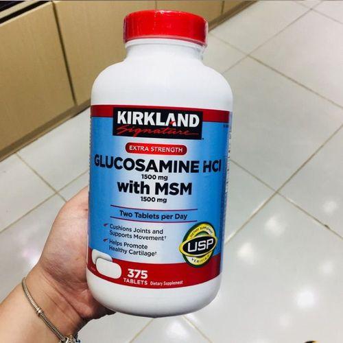 Review chi tiết Glucosamine 1500mg của Mỹ - hỗ trợ cải thiện xương khớp