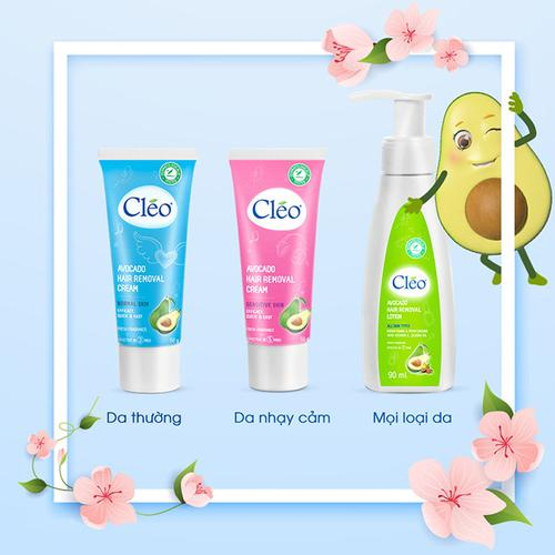 Review kem tẩy lông Cleo bơ có tốt không? Cách sử dụng? Giá bao nhiêu?