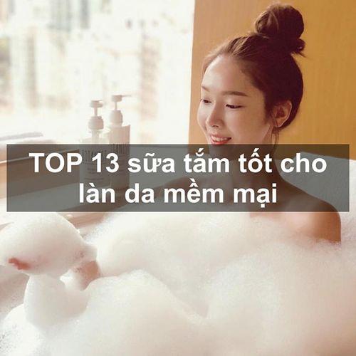 TOP 13 sữa tắm giá bình dân chỉ từ 100k cho làn da trắng thơm khó dấu
