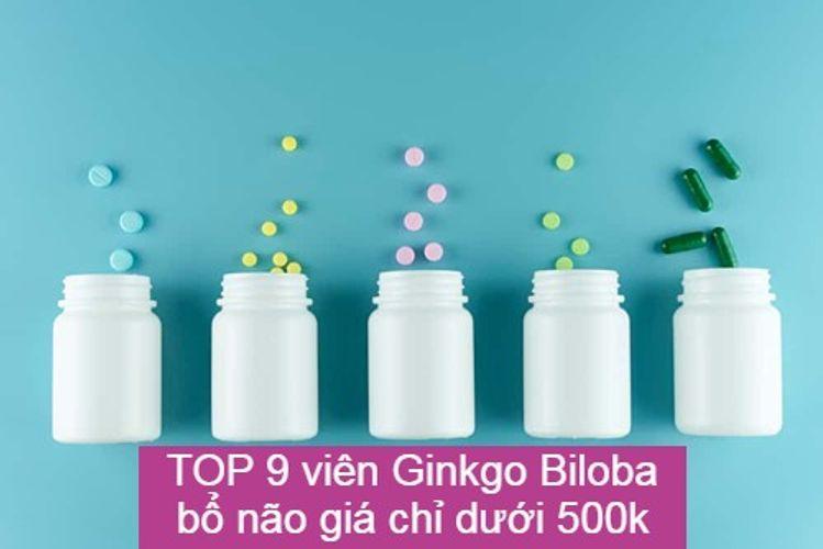 TOP 9 viên Ginkgo Biloba bổ não tăng cường trí nhớ hiệu quả giá chỉ dưới 500k
