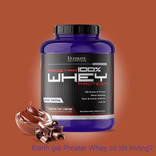 Đánh giá Prostar Whey hỗ trợ tăng cơ có tốt không, giá bao nhiêu?