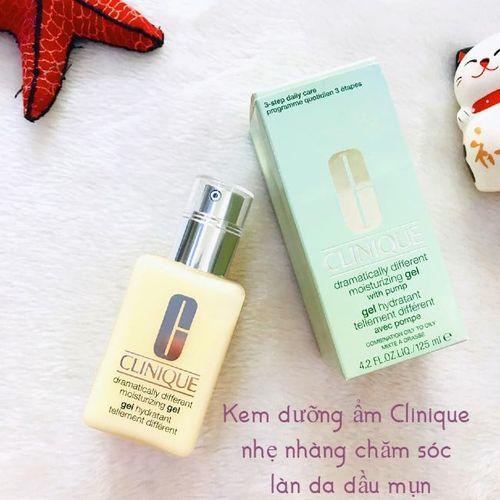 Review kem dưỡng ẩm Clinique cho da dầu mụn- dưỡng da sáng khỏe, mịn màng